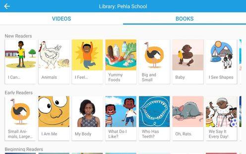 Screenshots - Library: Pehla School Module