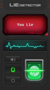 Screenshots - Lie Detector Test Prank - Fingerprint Scanner