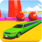 Limo Car Extreme Stunts: Free Kids Racing Games