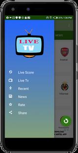 Screenshots - Live Football TV