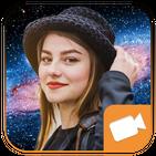 Efek Foto Live Galaxy Video Maker