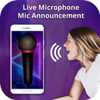 Live Microphone-Mic Announcement