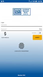 Screenshots - LNB Mobile Banking