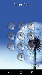 Screenshots - Lock screen - water droplet
