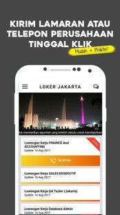 Screenshots - LOKER JAKARTA - Lowongan Kerja Jakarta
