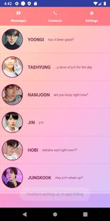 Screenshots - Love, BTS! (simulator)