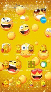 Screenshots - Lovely Emoji APUS Launcher theme