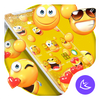 Lovely Emoji APUS Launcher theme