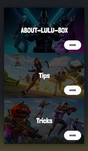 Screenshots - Lulu Guide Box FF & Free Skins ML Diamods Tips