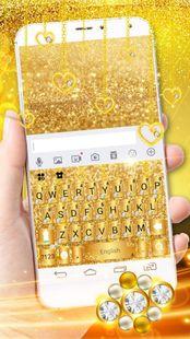 Screenshots - Luxury Gold Keyboard Theme