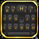 Luxury Golden Black Keyboard Theme