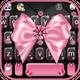 Luxury Pink Bow Keyboard Theme