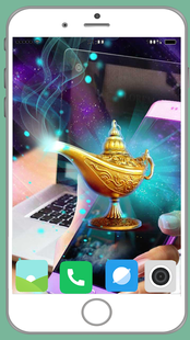 Screenshots - Magic Genie Lamp Full HD Wallpaper
