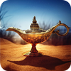 Magic Genie Lamp Full HD Wallpaper