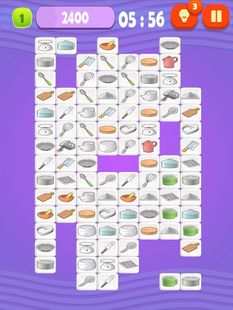 Screenshots - Mahjong Cook - Classic puzzle game about cooking
