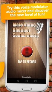 Screenshots - Male Voice Changer Sound Booth