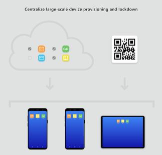 Screenshots - Managed Home Screen