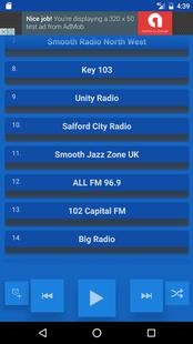 Screenshots - Manchester UK Radio Stations