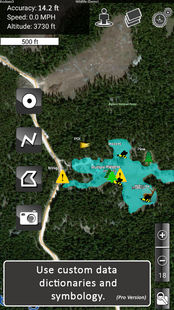 Screenshots - MapItFast- Easy Mobile Mapping for GIS