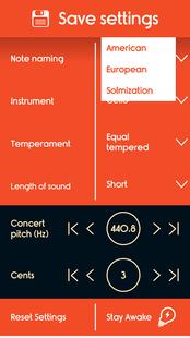Screenshots - Master Violoncello Tuner