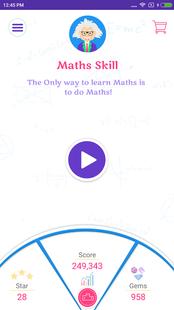 Screenshots - Math Skill