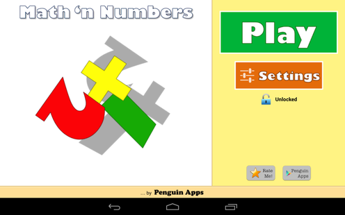 Screenshots - Maths and Numbers - Maths games for Kids & Parents
