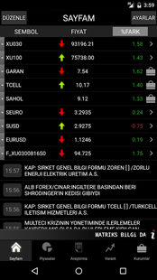 Screenshots - Matriks Mobile