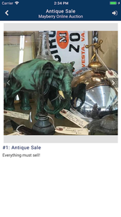Screenshots - Mayberry Online Auction