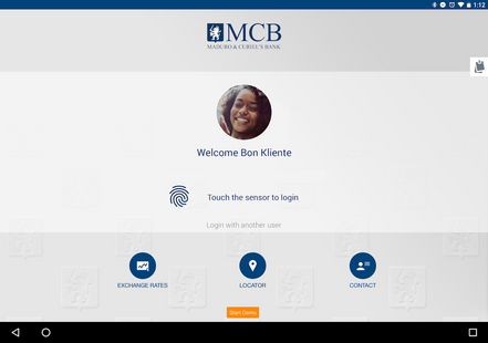 Screenshots - MCB Mobile Banking Curaçao