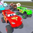 McQueen Monster Trucks - Motortruck Roadster 3D