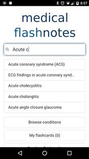 Screenshots - Medical FlashNotes
