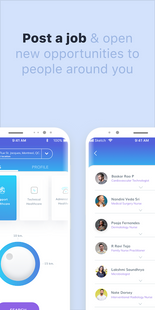 Screenshots - Medinin Jobs - Medical Job search, Recruitment