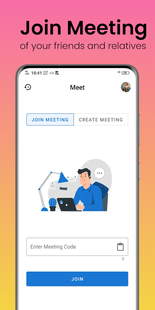 Screenshots - Meet - Video Conferencing App