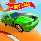 Mega Ramp Hot Car Stunt Race Off