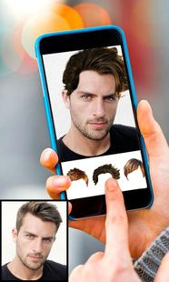 Screenshots - Men beard photo editor salon - mustache hairstyle