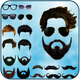 Men beard photo editor salon - mustache hairstyle