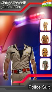 Screenshots - Men Police Suit Photo Editor : Men Police Dress