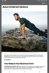 Screenshots - Men's Health Magazine