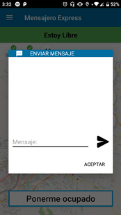 Screenshots - Mensajero Express