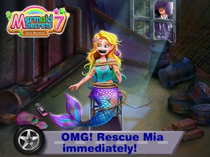 Screenshots - Mermaid Secrets 7– Save Mermaids Mia