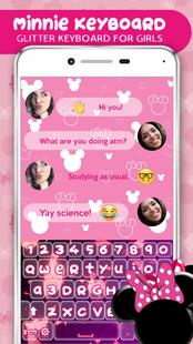 Screenshots - Minnie Keyboard – Glitter Keyboard For Girls