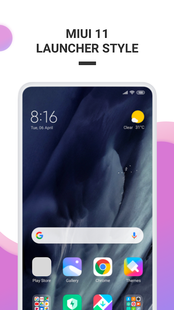 Screenshots - MIUI 11 Launcher New 2019🔥- Fast&Smooth