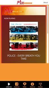 Screenshots - Mix 94.5 FM