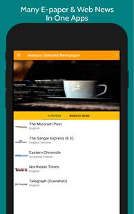 Screenshots - Mizoram News - A Daily Mizoram Newspaper Apps