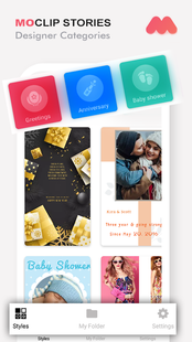 Screenshots - MoClip - animated video stories for Instagram