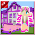 Mod Barbie Pink - Maps House Minecraft PE 2021