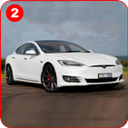 Model S : Extreme Offroad Hilly Roads Drive