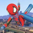 Modern Stickman Spider: Rope Hero Gangster Mafia