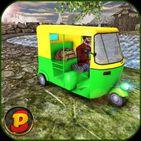 Modern Tuk Tuk Simulator: Rickshaw Driving Games