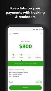 Screenshots - Money by QuickBooks—business banking & payments